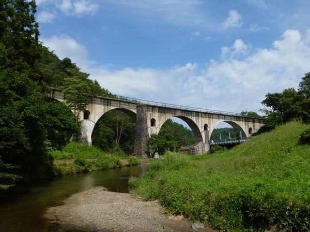 遠野市 宮守駅 めがね橋