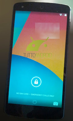 Nexus 5 and KitKat Lockscreen