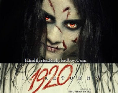 KHUD KO TERE LYRICS - 1920 EVIL RETURNS