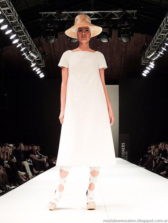 Pablo Ramírez primavera verano 2015 vestidos moda 2015.