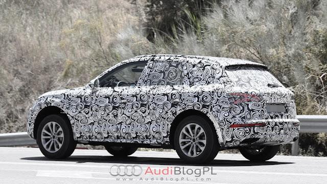 SpyShot Audi Q5 2016