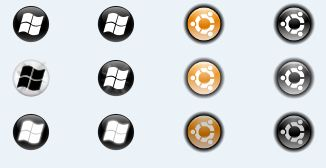 how to change the windows button icon