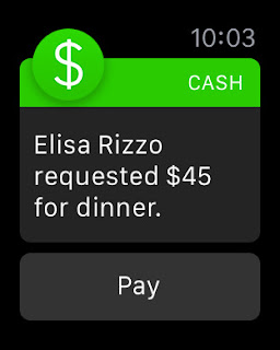 Square Cash launches Apple Watch app