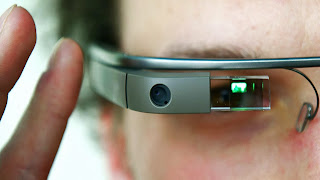 Google Glass close-up image