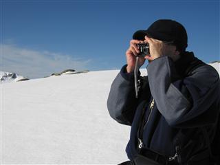 El fotógrafo, Manuel Casadiego en la Sierra