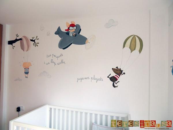 Pintar mural en pared aprender manualidades es for Materiales para pintar un mural