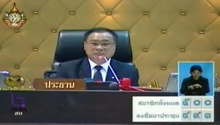 ผลโหวต นายกรัฐมนตรีคนที่ 28 ของประเทศไทย
