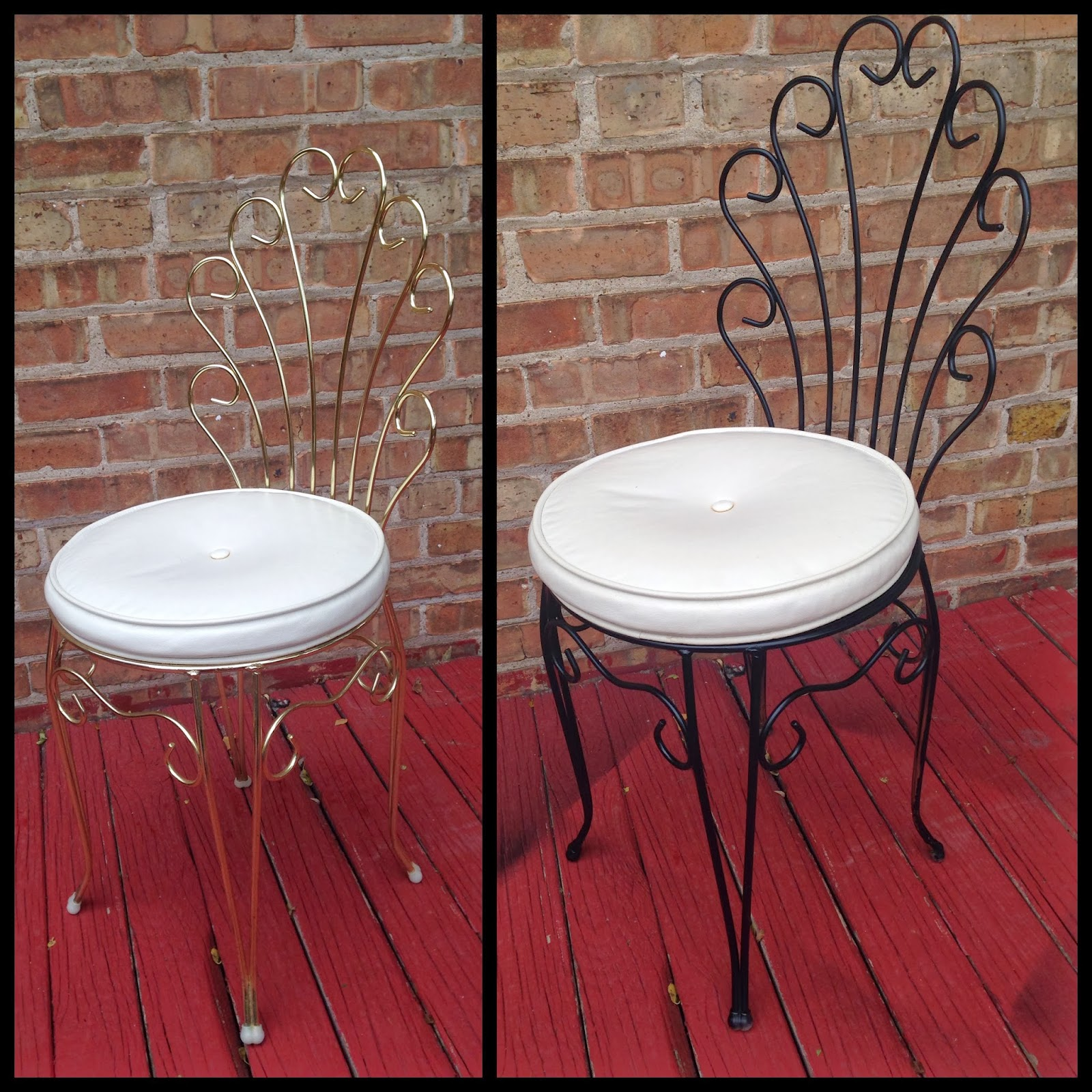 Marvelous Little Vanity Chair Contemporary - Best image 3D home ...