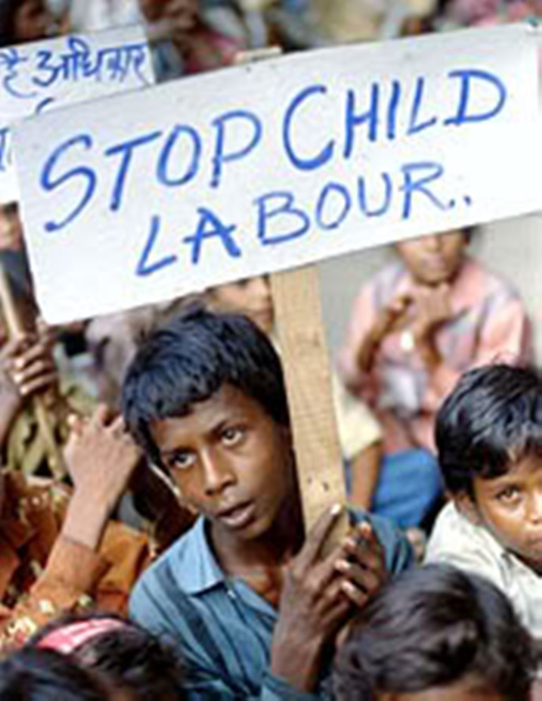 report writing on child labour