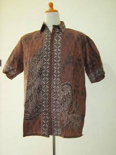 Baju Kemeja Kasual Batik Pria 2012
