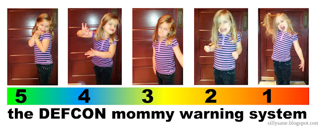 the DEFCON mommy warning system