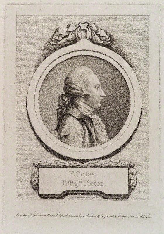 Francis Cotes by D.P. Pariset, 1768