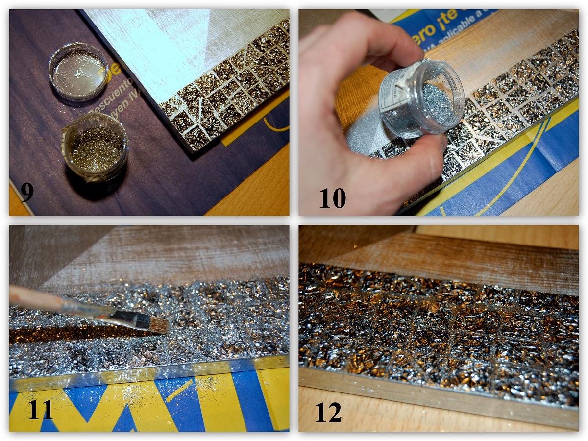 De Todas Las Manualidades Marco Espejo Con Papel Aluminio
