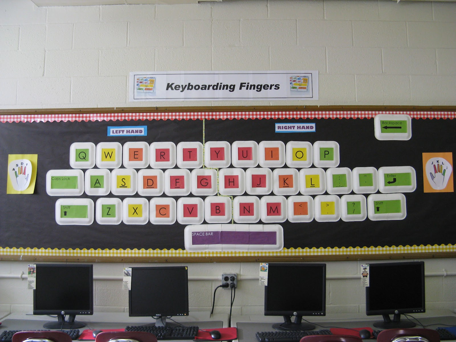 Computer Classroom Decoration : Classroom decoration ideas for high school computer lab