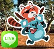 LINE Stickers: Rio And Drop Bear