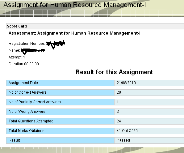 strategic management assignments scdl