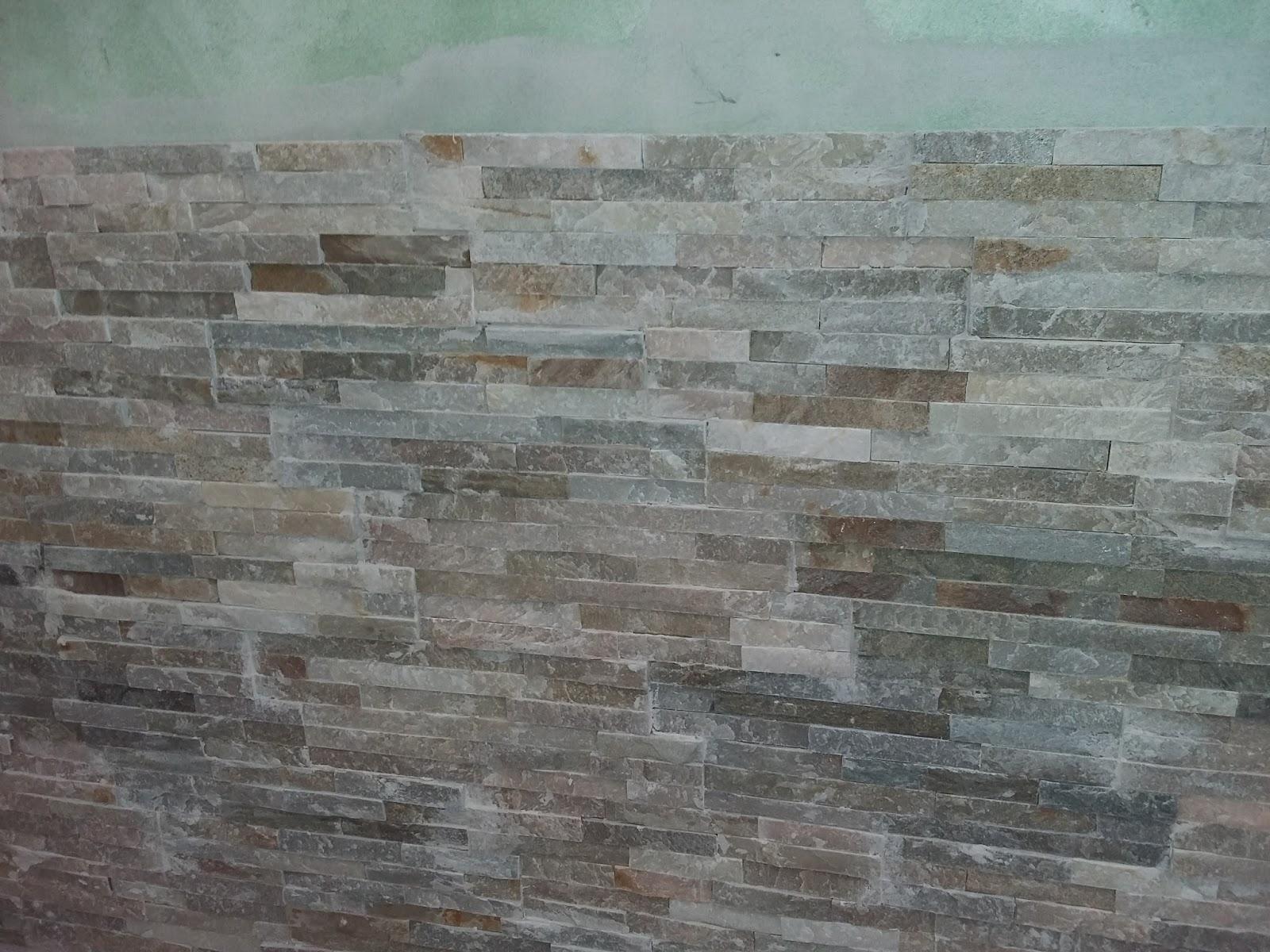 Bricolage de l 39 id e la r alisation parement en for Enduire un mur en pierre interieur