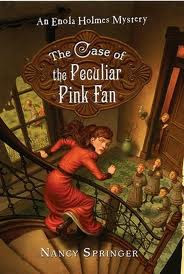 image: The Case of the Peculiar Pink Fan - mystery book review