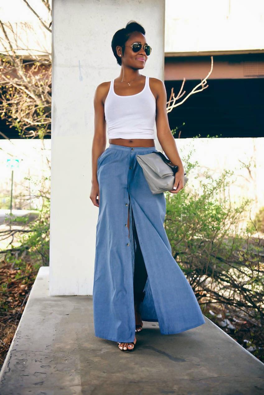 chambray-maxi-skirt