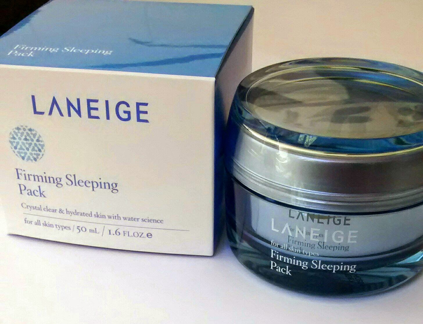 how to use laneige firming sleeping pack
