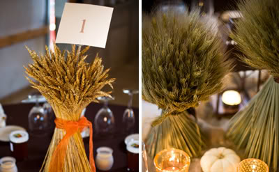 Lq designs 5 quick easy fall wedding centerpieces my for Quick and inexpensive wedding decorations