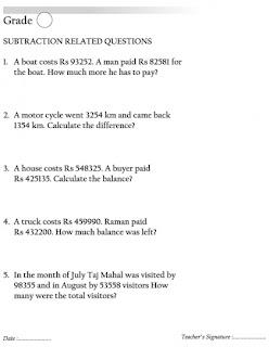 Mental maths worksheets year 6   Maths Worksheets For kids