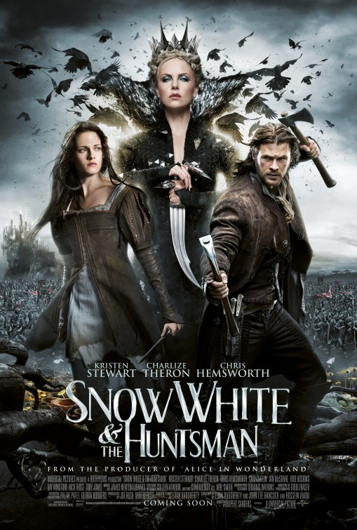 Snow White Huntsman movie poster