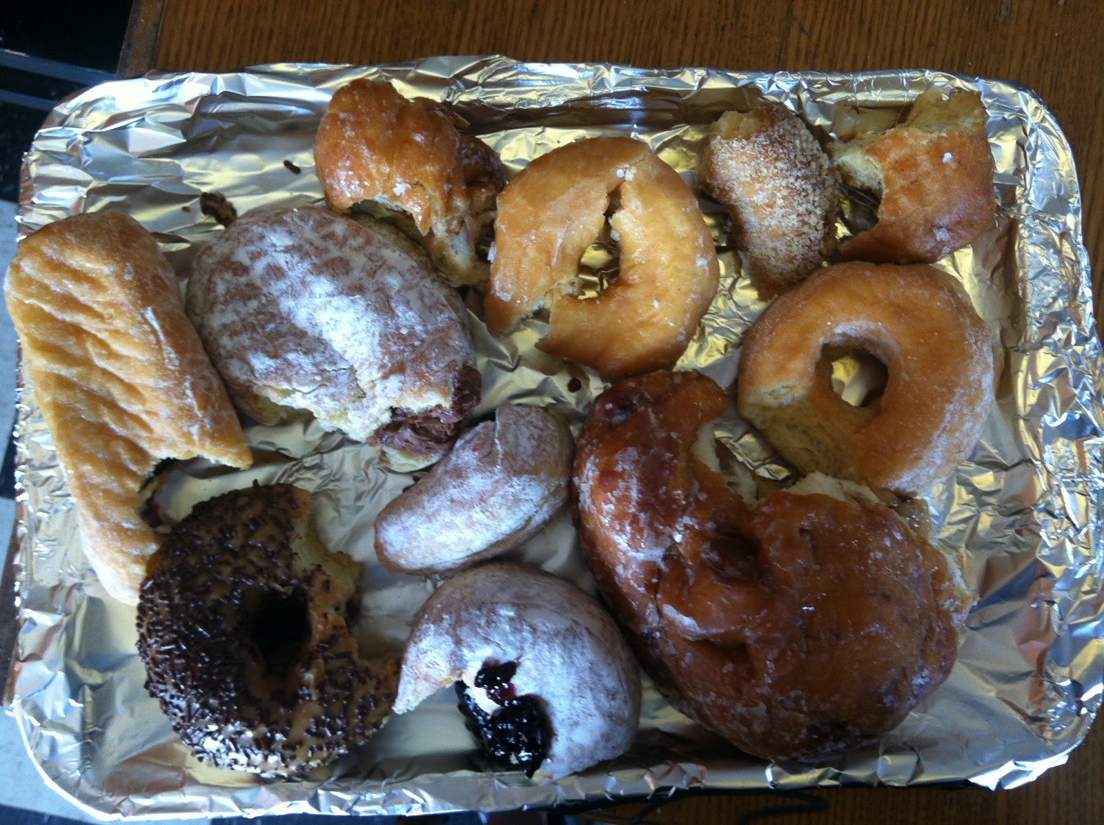 Doughboy donuts boston south boston for Fishes and loaves