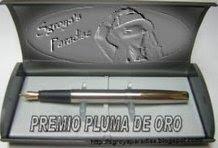 Premio Pluma de Oro del Blog Luján Fraix