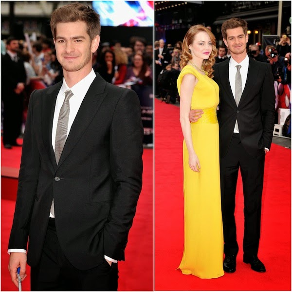 Andrew Garfield in Alexander McQueen - 'The Amazing Spider-Man 2' World Premiere in London