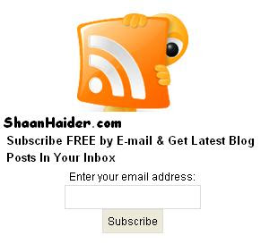 Add Cool Feed Icon With Subscription Email Form to Your Blogger