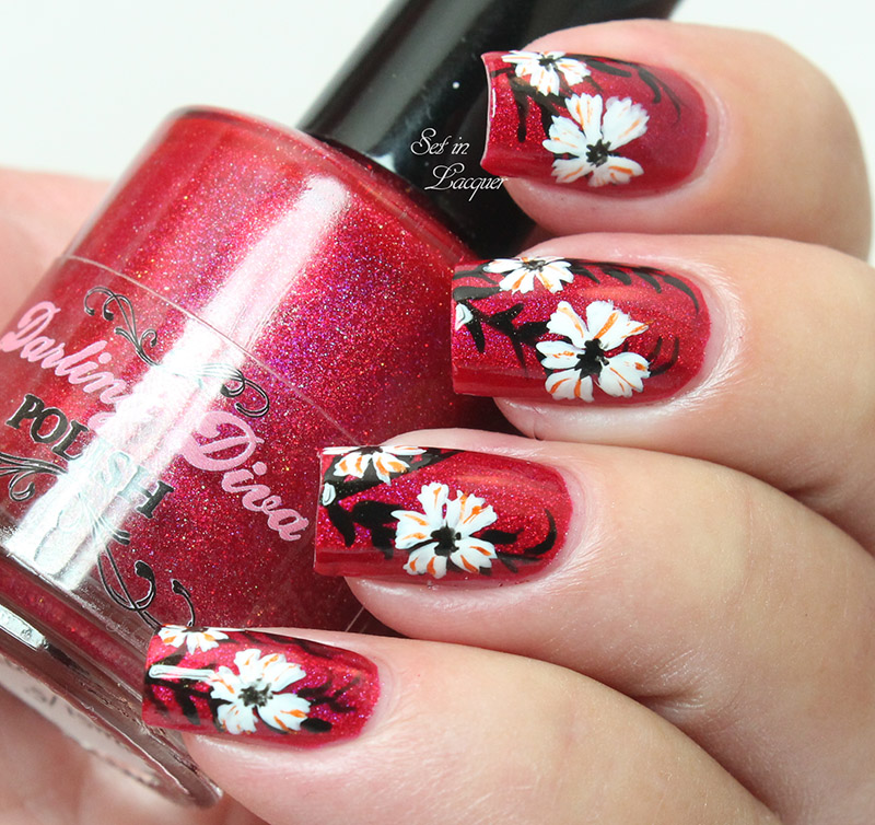 Far East Floral Nail Art