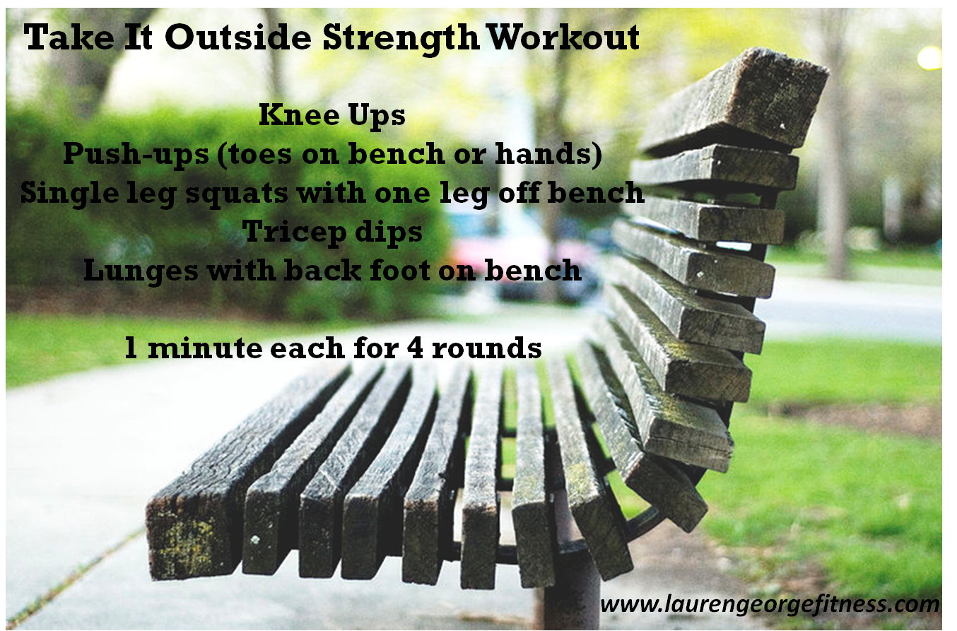 outdoor exercise, strength training