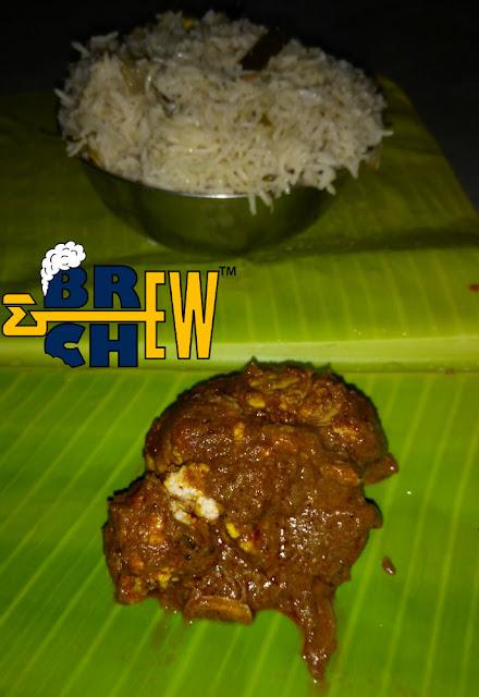 Reddamma Mess Tirupati Review,Biryani, brain fry, banana leaf meals