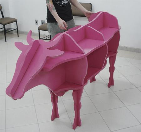 Rak buku lembu