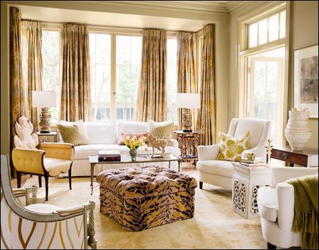 Romantic Style Living Room Design Ideas ...