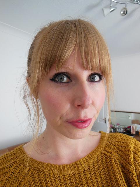 Susan Posnick Shanghai lipstick on lips