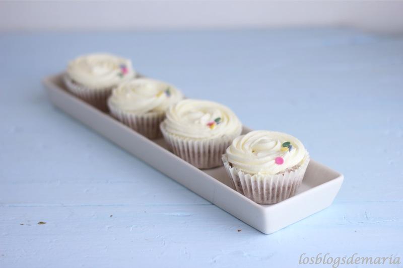 cupcake de fresa