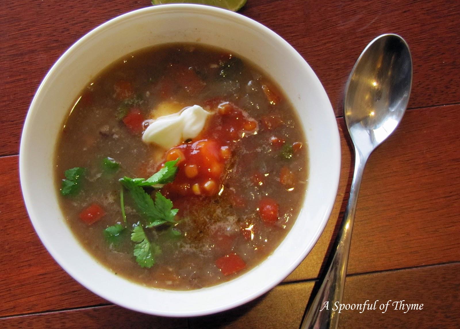 chipotle black bean soup add to recipe box vegetarian chipotle black ...