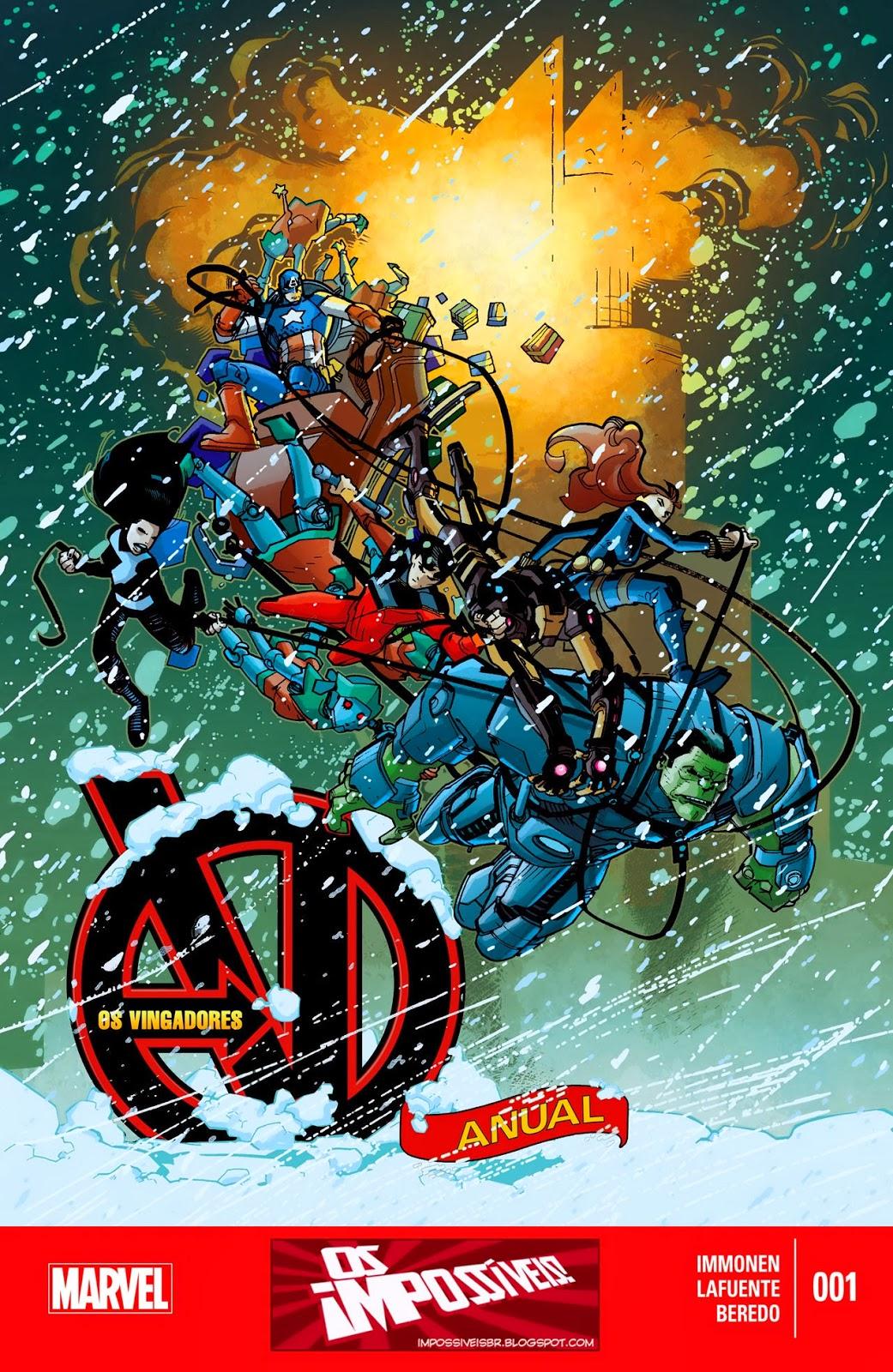 Nova Marvel! Vingadores v5 - Anual #1