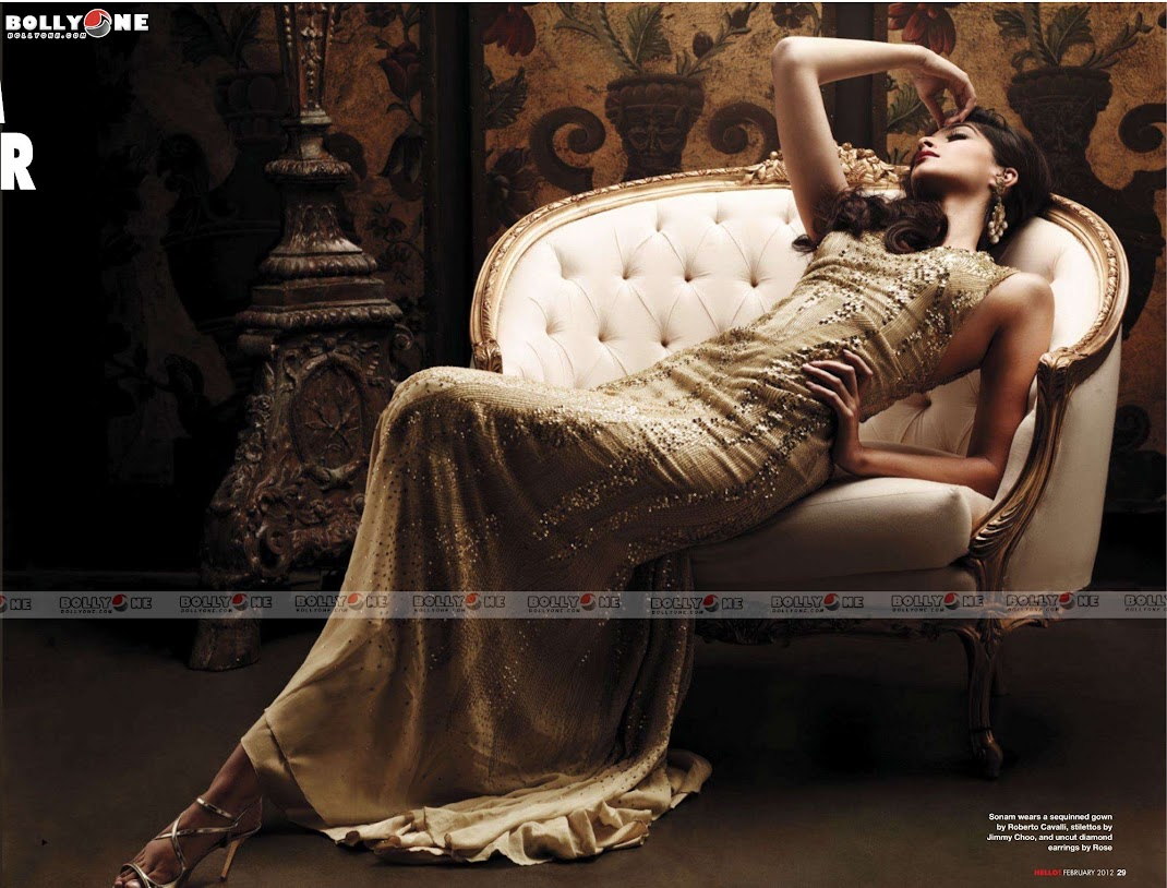 Sonam Kapoor Hello Magazine February 2012 HQ Scans