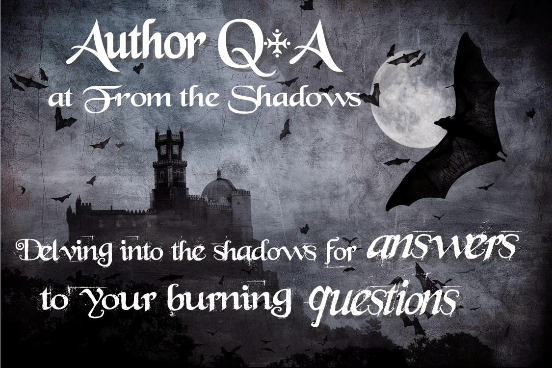 Author Interview at From the Shadows: Q+A with Rebecca Chastain + A Fistful of Evil urban fantasy Book Giveaway