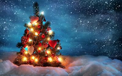 Božične slike za pozadinu