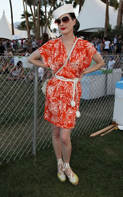 Ashley Greene, Cory Monteith Close Out Coachella Music & Arts Festival 2011