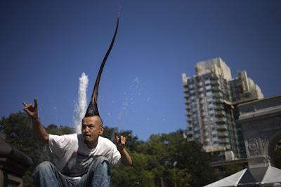 Ini Dia Mohawk Tertinggi di Dunia