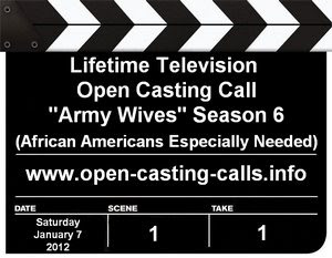 Army Wives Season 6 Open Casting Call