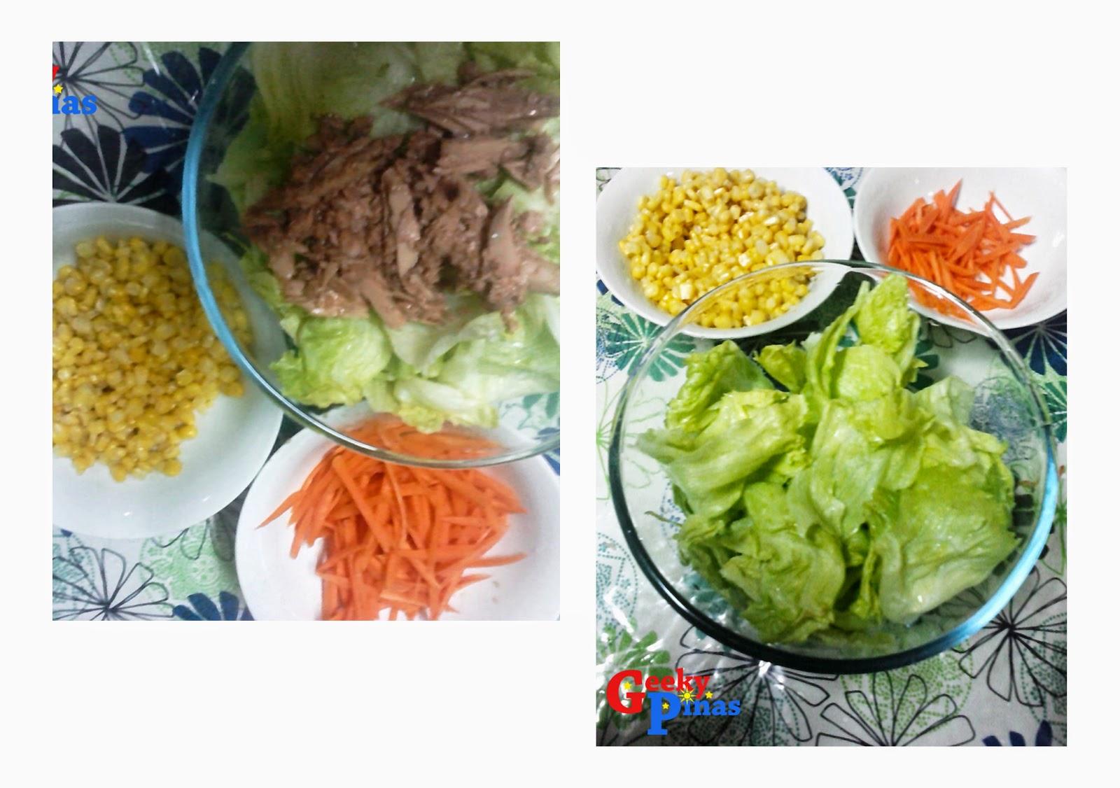 Geeky Pinas Tuna Salad