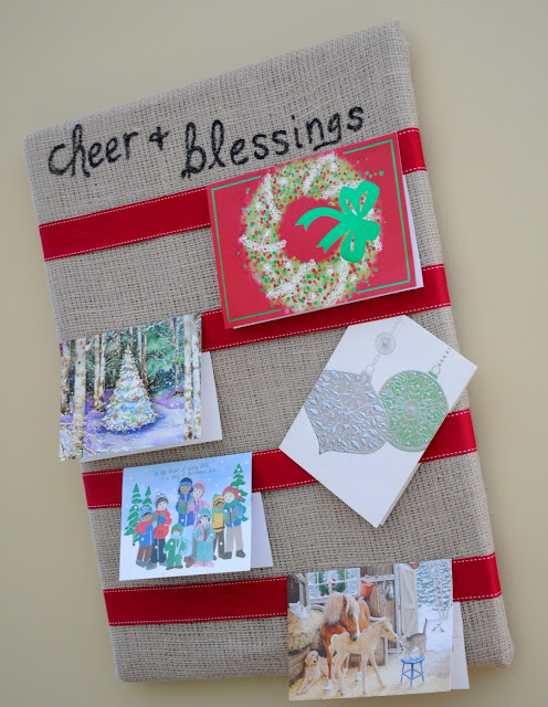 Easy christmas cards ideas table decoration