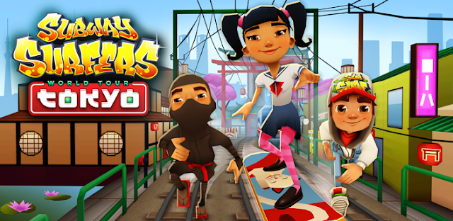 Subway Surfers (funcionando no galaxy y)