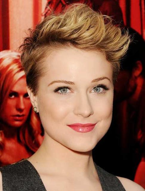 Evan Rachel Wood Short Pixie Hair Style